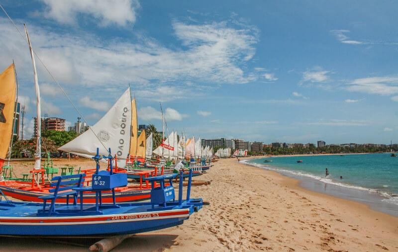 Melhores praias de Maceió: Pajuçara