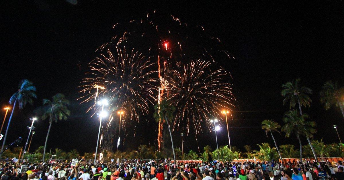 Ano Novo em Maceió: Orla de Maceió
