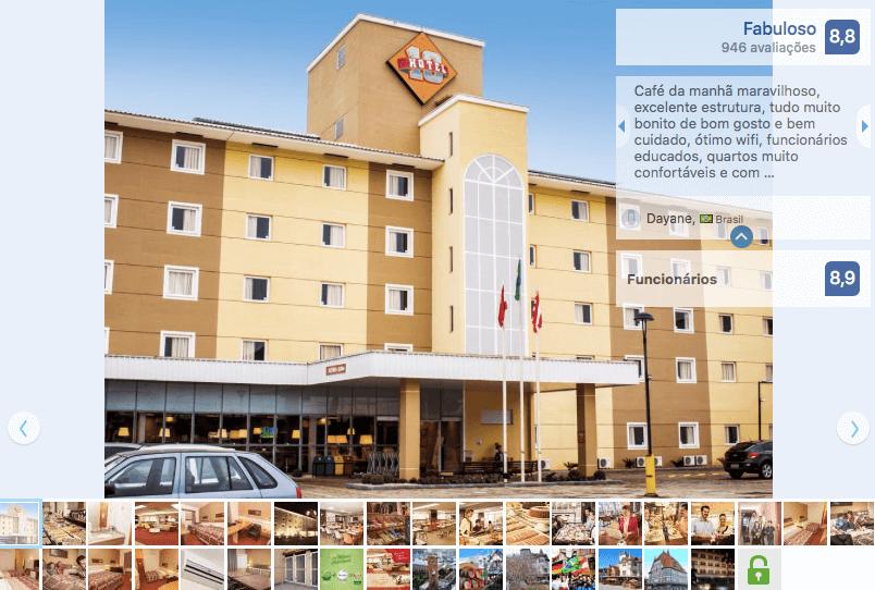 Blumenau Norte Shopping: Hotel 10 Blumenau