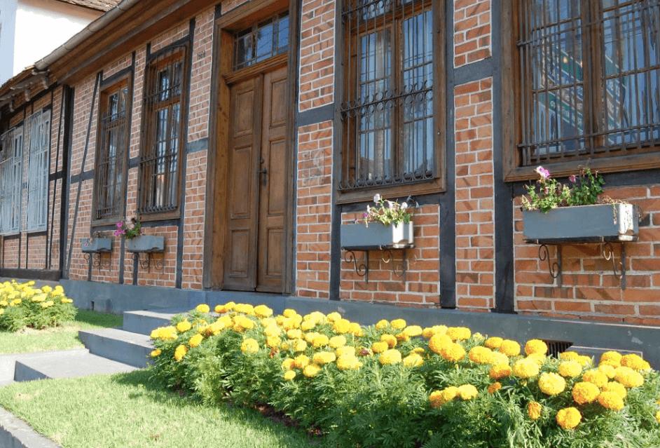Conhecer museus no inverno em Blumenau