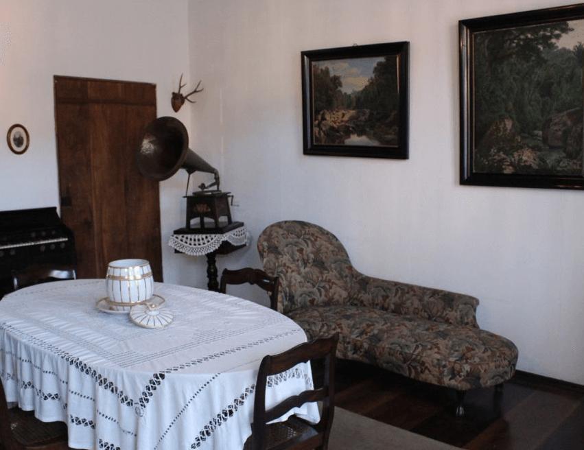 Museu da Família Colonial em Blumenau: Interior do museu