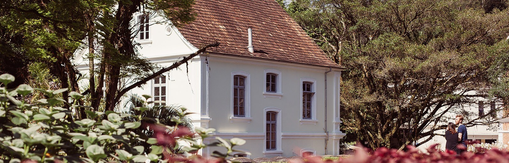 Museu Hering em Blumenau: Área externa
