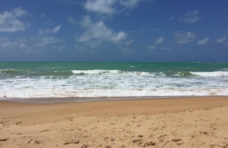 Melhores praias de Maceió: Mar da praia Jatiúca