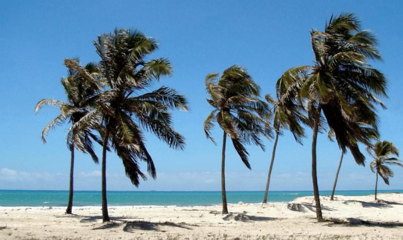 Praia do Pontal da Barra em Maceió