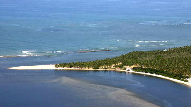 Melhores praias de Maceió: Praia do Gunga