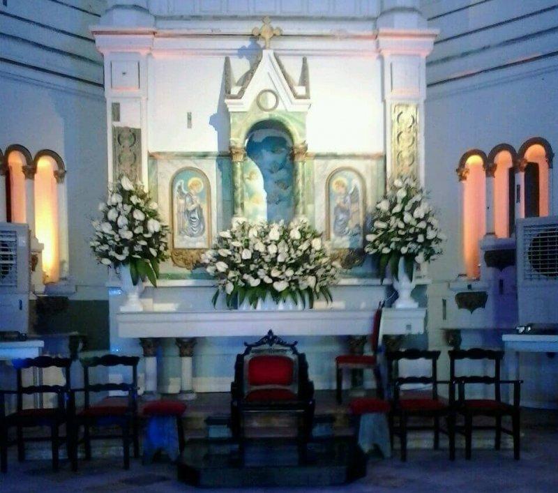 Altar menor da Catedral Metropolitana de Maceió