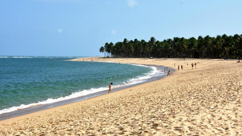 Melhores praias de Maceió: Paisagem da praia do Francês