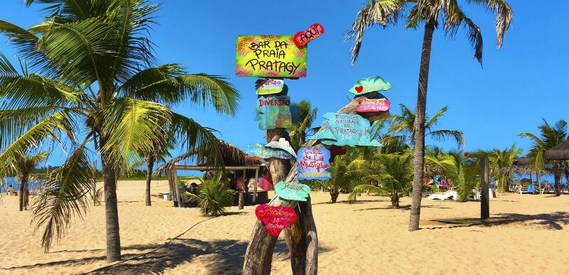 Diversas opções o que fazer na praia Pratagy em Maceió