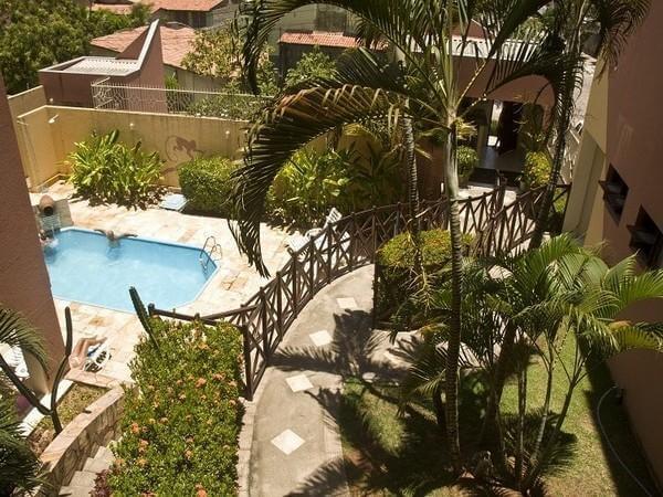 Hotéis no centro turístico de Natal: Fachada do Apart Hotel Vale do Sul