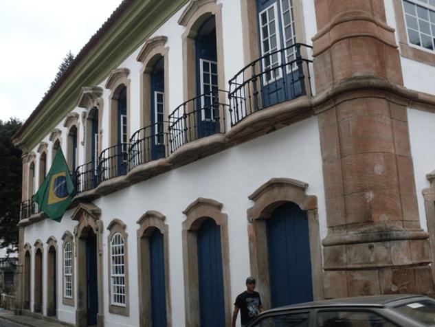 Casa dos Contos em Ouro Preto