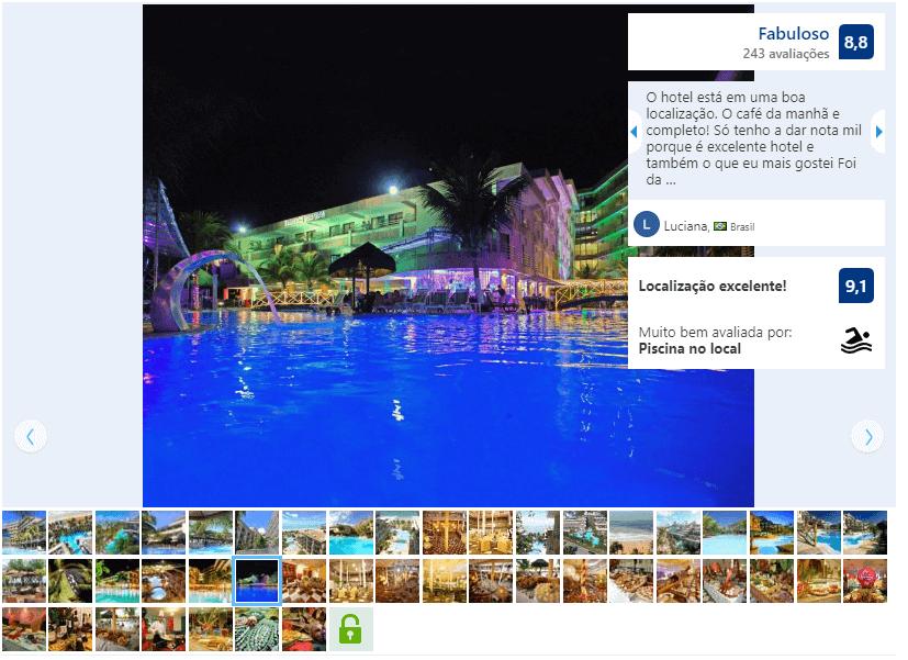Melhores hotéis em Natal: Avaliação do Esmeralda Praia Hotel