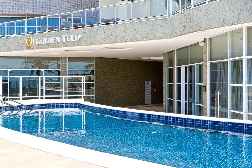 Melhores hotéis em Natal: Piscina do Golden Tulip Natal Ponta Negra