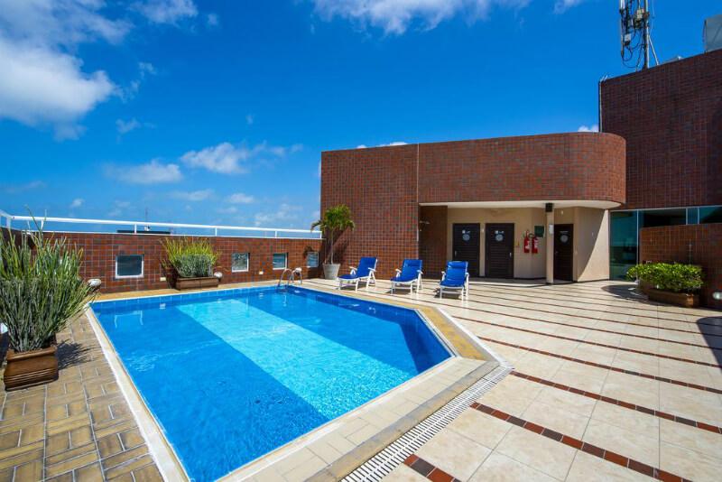 Hotéis no centro turístico de Natal: Piscina do Othon Suites Natal