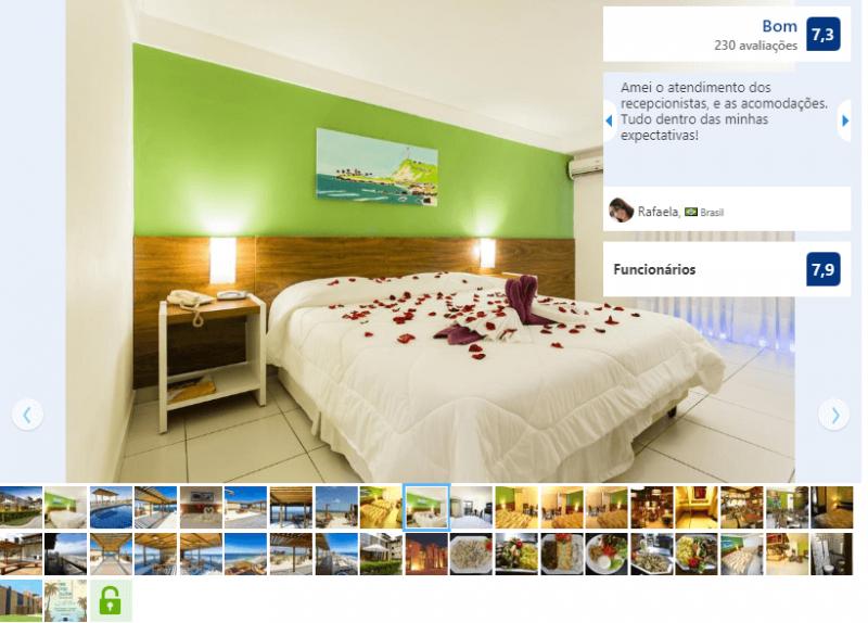 Hotéis no centro turístico de Natal: Quarto do Porto Suítes Natal Hotel