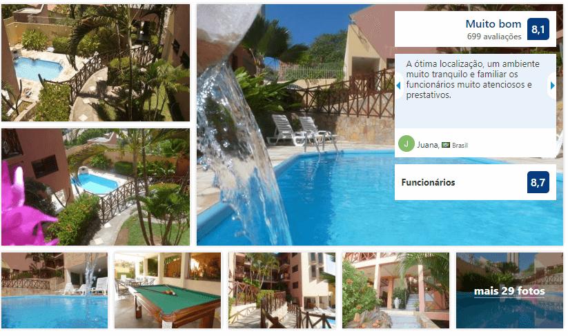 Hotéis no centro turístico de Natal: Avaliação do Apart Hotel Vale do Sul