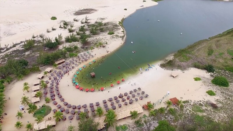 Lagoa de Pitangui e Lagoa de Jacumã em Natal