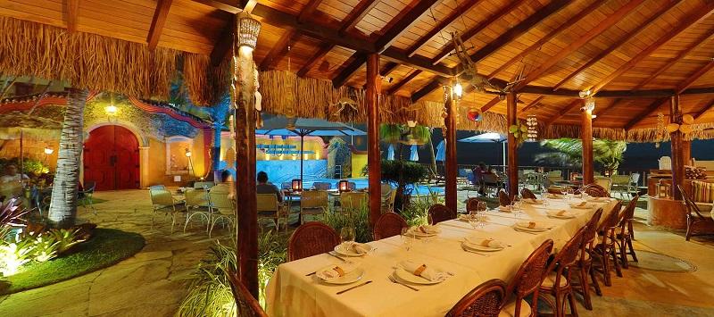 Restaurante do hotel Manary em Natal