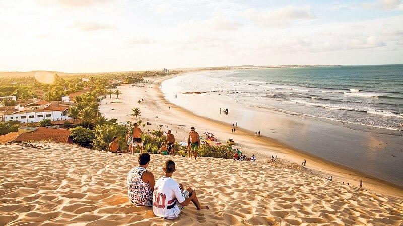 Praia de Genipabu em Natal no Rio Grande do Norte