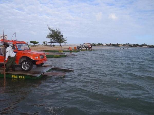 Praia Barra do Rio para uma visita em Natal
