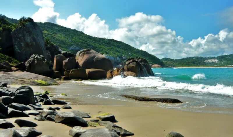 Praias do leste de Florianópolis: