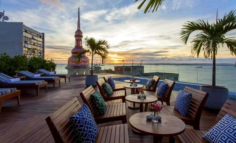 Hotéis no centro histórico de Salvador: