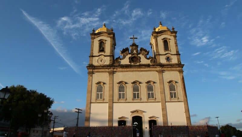 Basílica Nosso Senhor do Bonfim em Salvador: