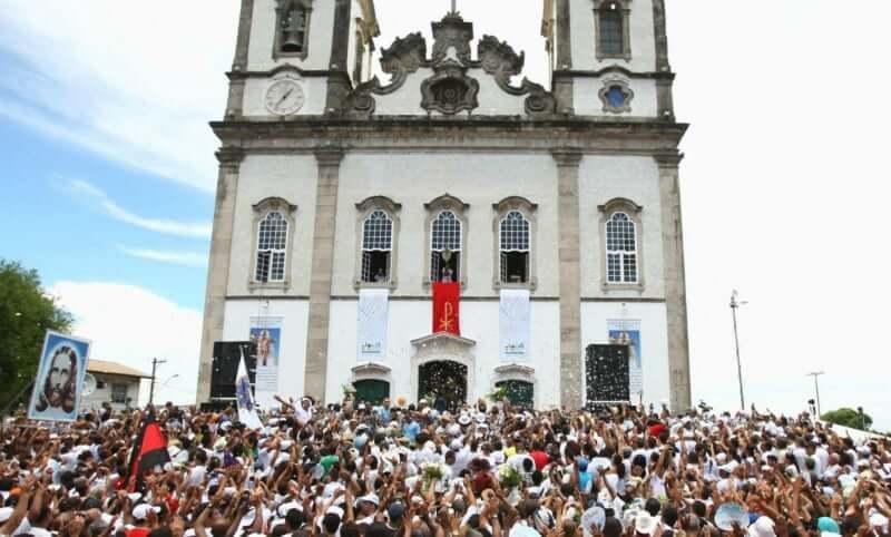 Festa da Lavagem do Bonfim em Salvador