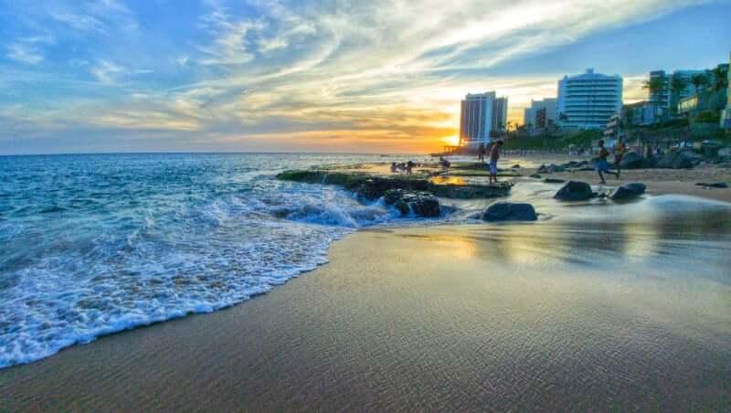 Praia do Buracão em Salvador