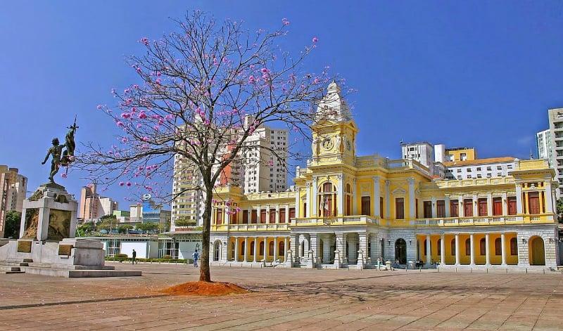 Mapa turístico de Belo Horizonte: