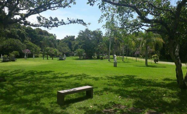 Parque Municipal Raimundo Malta em Balneário Camboriú