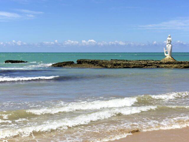 Praia da Sereia em Maceió