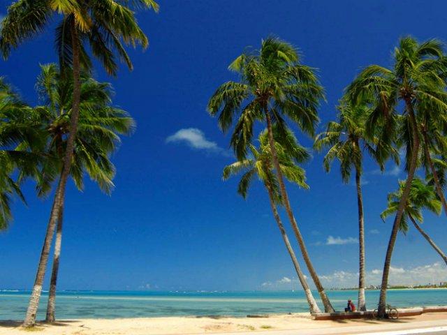 Praia de Cruz das Almas em Maceió