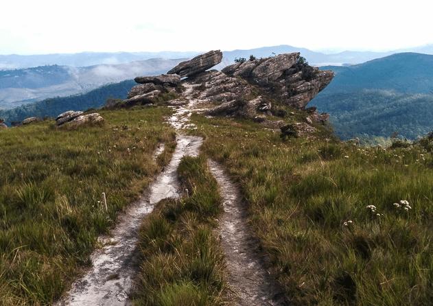 Pico do Itacolomi em Ouro Preto